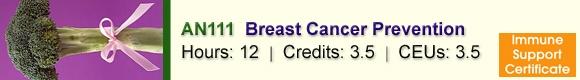 AN111 Breast Cancer Prevention – CSNN Ottawa, ON