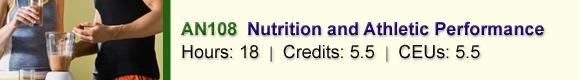 AN108 Nutrition & Athletic Performance – CSNN Ottawa, ON